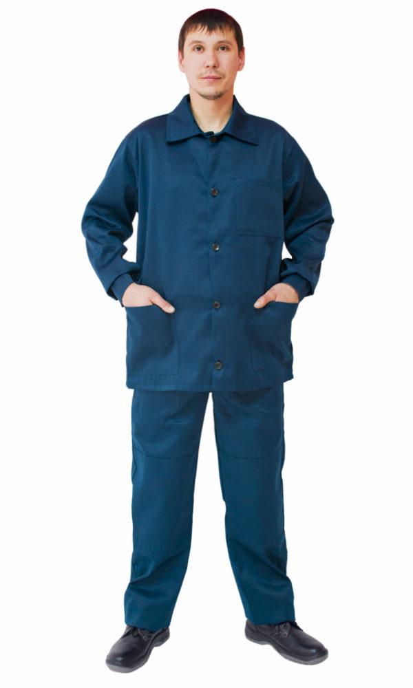Костюм рабочий. Куртка + брюки.-0