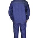 Костюм джинсовый с наколенниками и налокотниками-1163