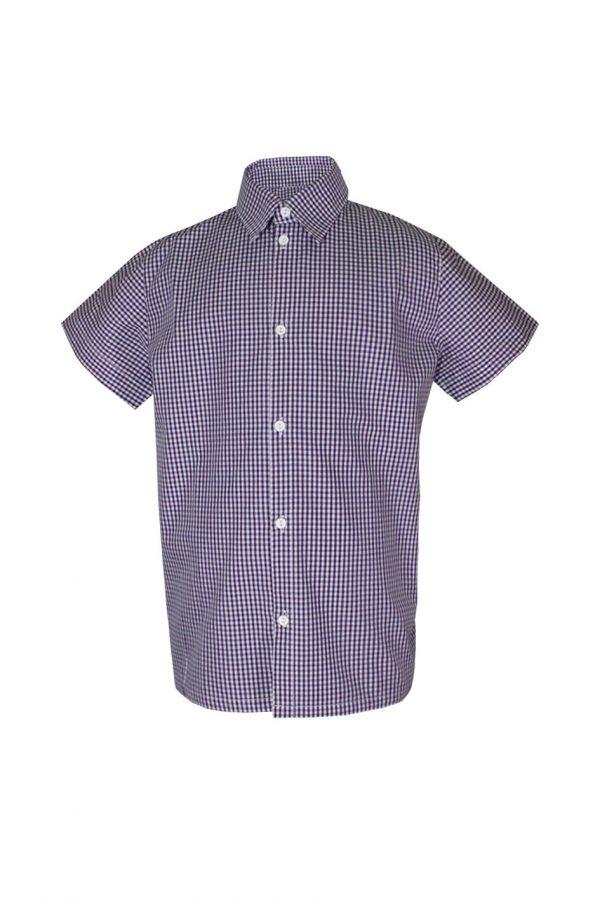 Рубашка классическая короткий/длинный рукав-0