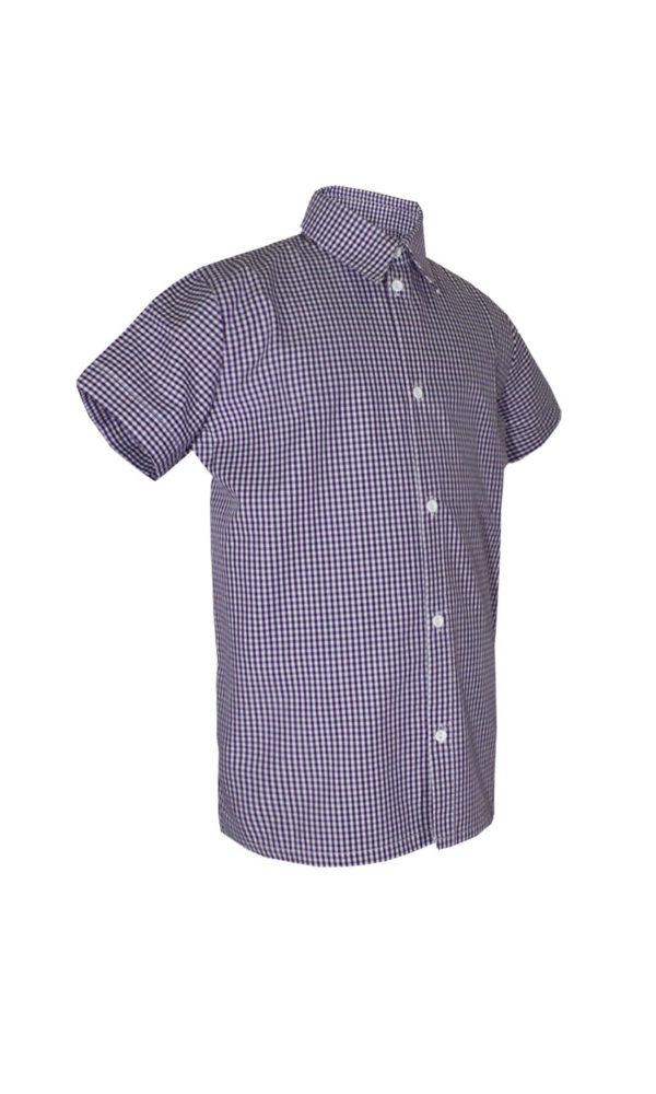 Рубашка классическая короткий/длинный рукав-601