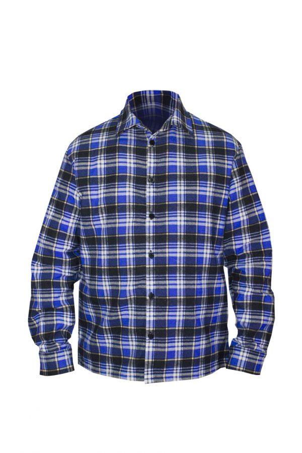 Рубашка классическая длинный рукав-0
