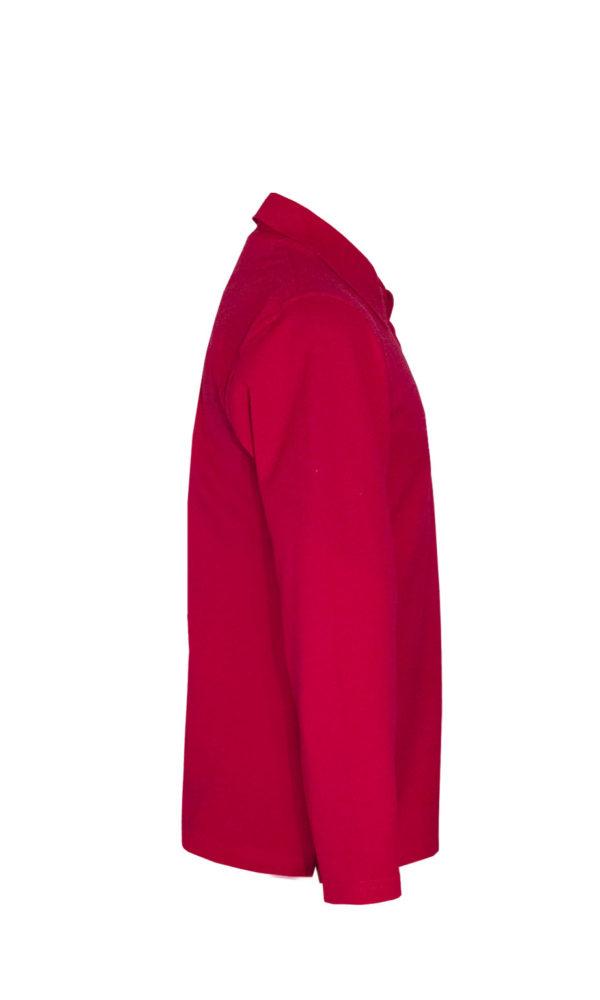Рубашка-поло с длинным рукавом-688