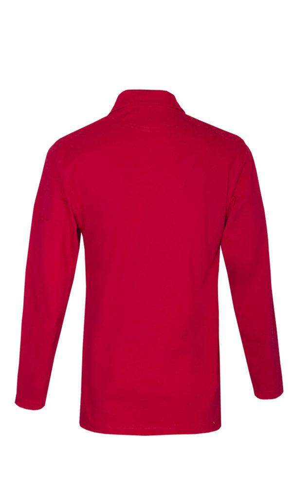 Рубашка-поло с длинным рукавом-689