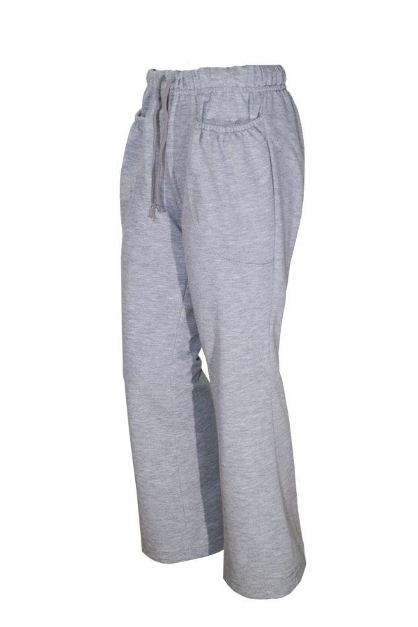 Трикотажные женские брюки-620