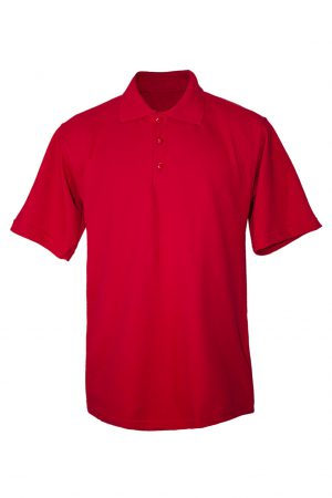 Рубашка-поло красная-0