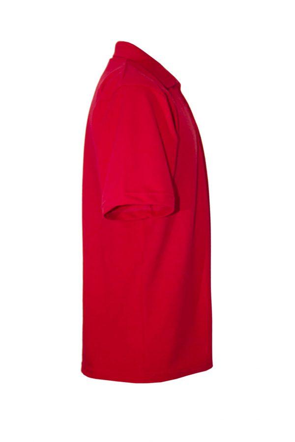 Рубашка-поло красная-686