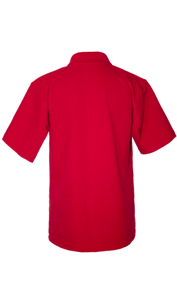 Рубашка-поло красная-687