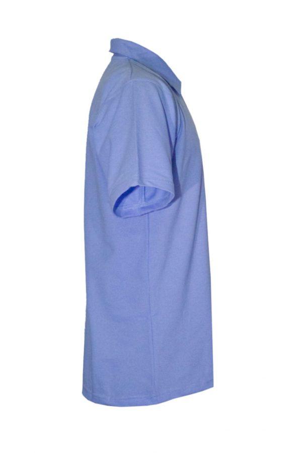 Рубашка-поло синяя-711