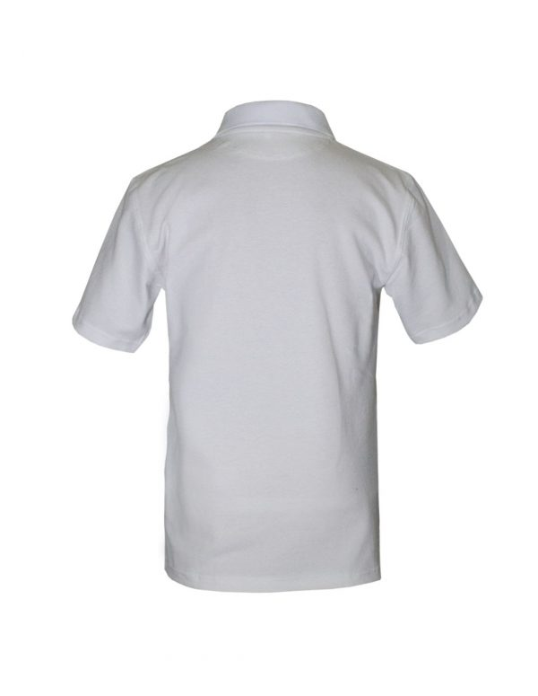 Хлопковая рубашка-поло на трех пуговицах-691