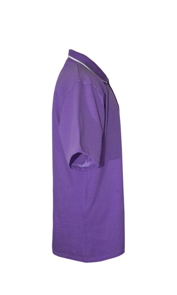 Рубашка-поло фиолетовая-713