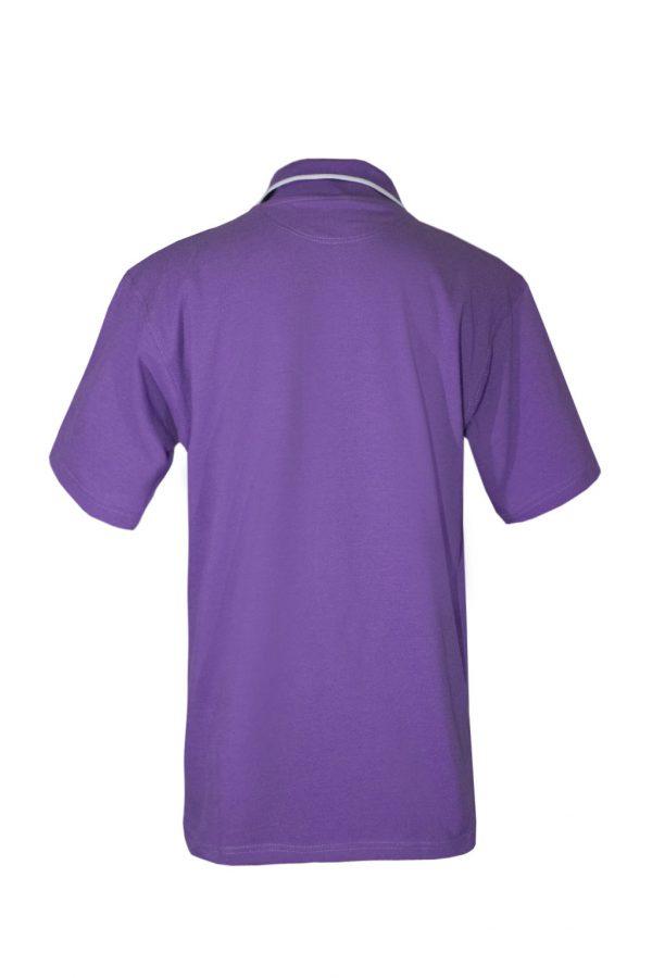 Рубашка-поло фиолетовая-714