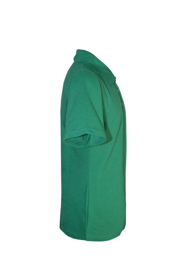 Рубашка-поло зеленая-715