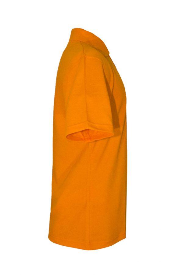 Рубашка-поло оранжевая-722