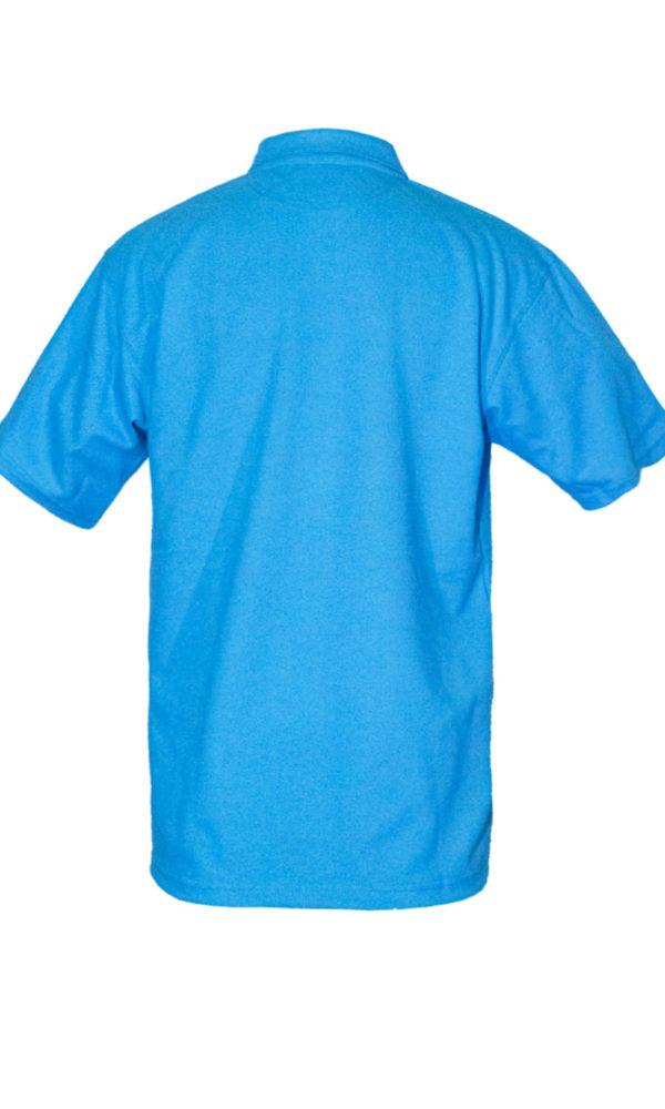 Рубашка-поло голубая-724