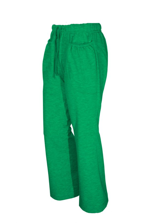 Трикотажные женские брюки-917