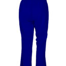Трикотажные женские брюки-907