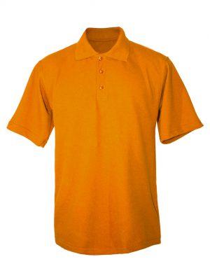 Рубашка-поло оранжевая-0