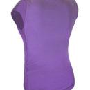 Футболка фиолетовая с лайкрой-1071