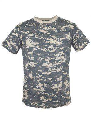 Камуфляжная футболка-0