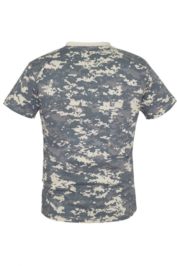 Камуфляжная футболка-1218