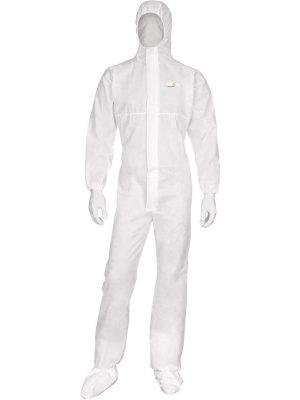 Комбинезон с капюшоном DT215, белого цвета, размер XL