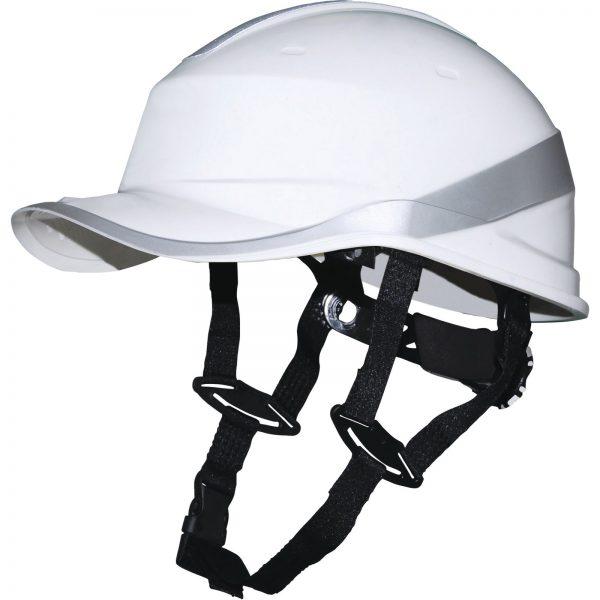 Защитная каска DIAMVUP белого цвета